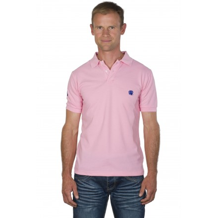 Polo racing homme rose