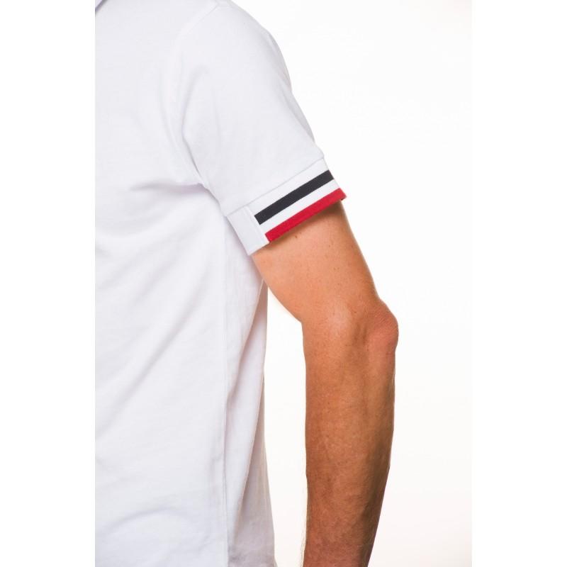 58d99d73d799a ... Polo homme classique jersey coton uni blanc